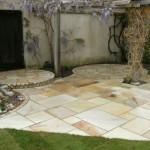 Garden Design - Circles & Sandstone