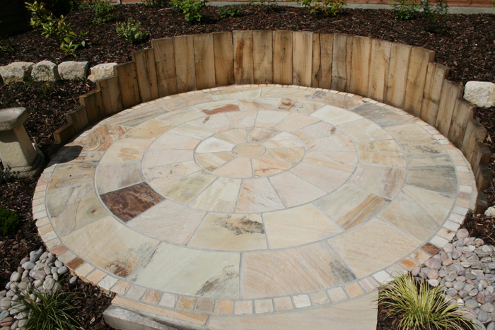 garden design with sleepers. garden design hampshire sleepers u0026 sandstone with