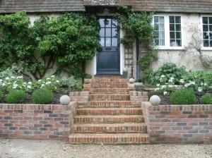 Tudor styled steps
